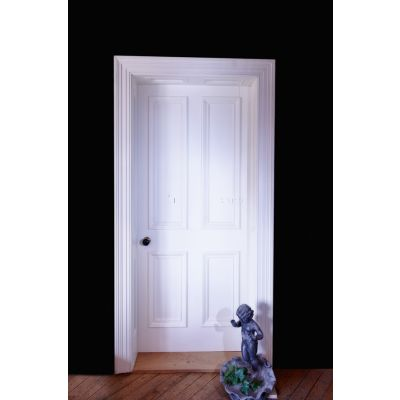 Georgian Style Four Panel Door - Bolection Mold