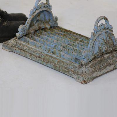 Original Georgian boot scraper - plate