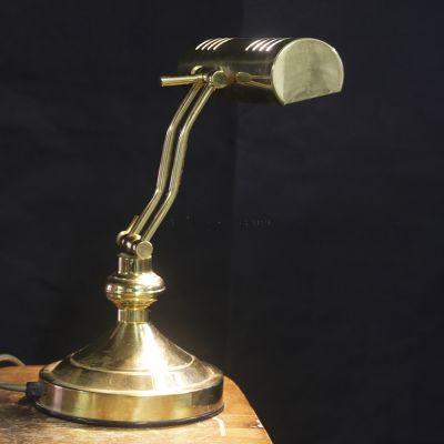 Vintage style Brass desk lamp