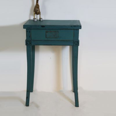 Chinese table with single drawer