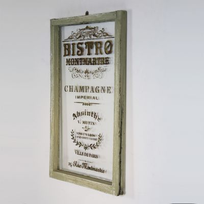 Vintage French Montmartre bistro window