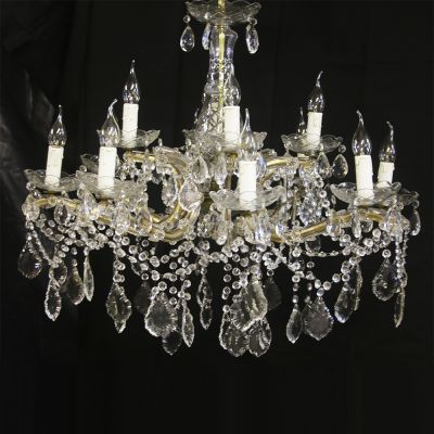 Beautiful French crystal chandelier