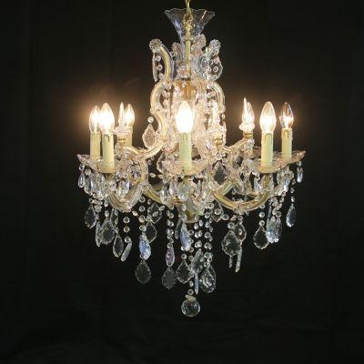 Beautiful pair of Crystal chandeliers