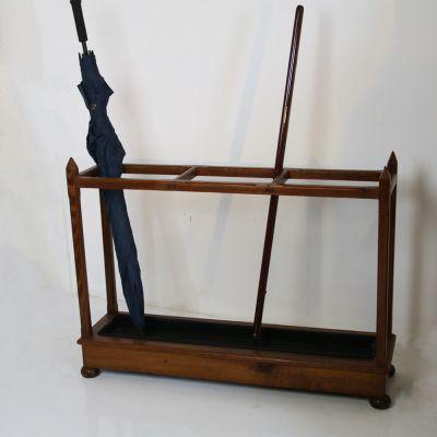 Antique umbrella and stick stand