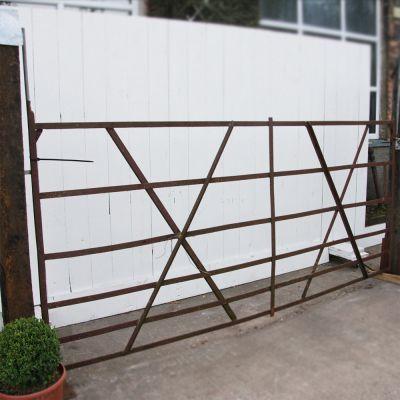 Original vintage field gate