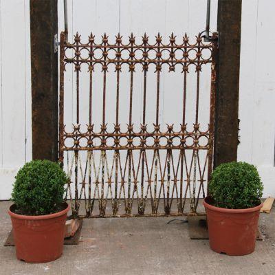 Original late 19th centry decorative pedestrian / garden gate