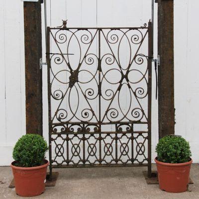 Elegant 19th century pedestrian / garden gate
