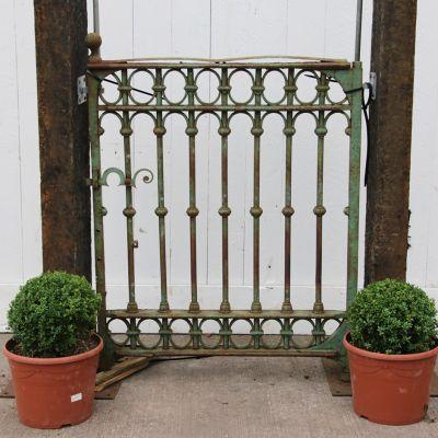 Victorian town house pedestrian / garden gate