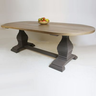 Bespoke Viennese Table Base -Oval