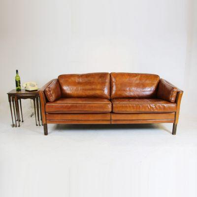 Three seater Scandinavian mid century sofa