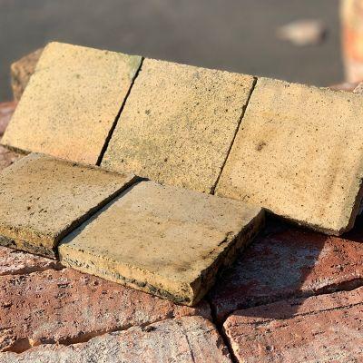 "Reclaimed Buff Quarry Tiles 6"" x 6"""