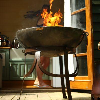 Hand Made Kadai Fire Bowl 60cm - cannot get anymore