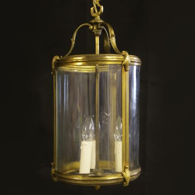 Large vintage French lantern