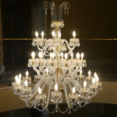 Antique French Cystal Chandelier - extremely large