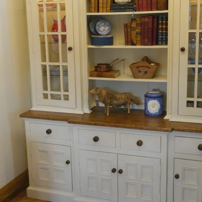 Restored painted dresser / bookcase
