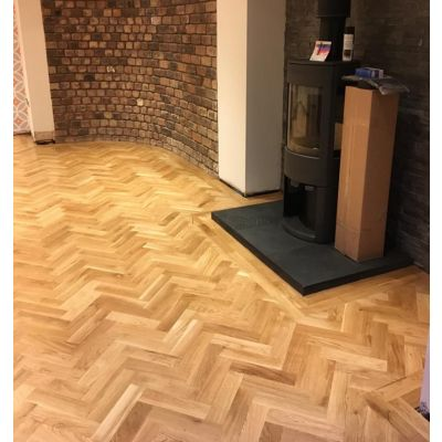European Oak / Parquet woodblock flooring