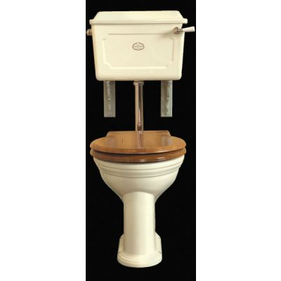 Low Level Set Ceramic Cistern Antique White China