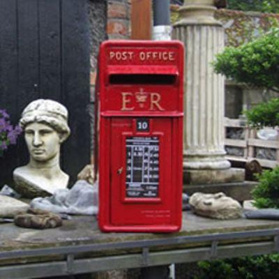 Post box Square Top