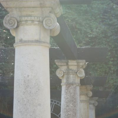 Columns with Ionic Capitals