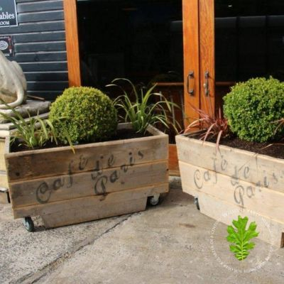 Mobile Commercial Planters