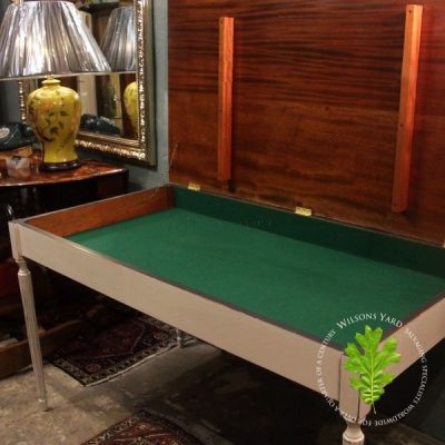 Games Table with Felt Lined Interior