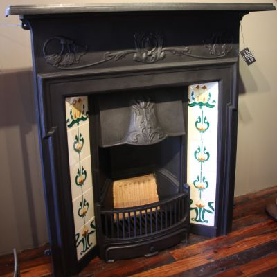 The Morris - Victorian Style Cast Iron Fireplace
