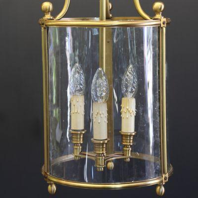 Elegant Brass Lantern