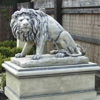 The Triton Collection - Triton Lion Statues (Pair)