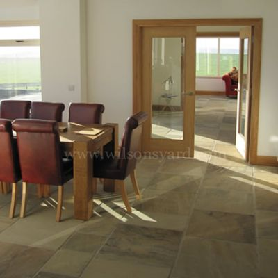 Indoor Tinted Mint Paving