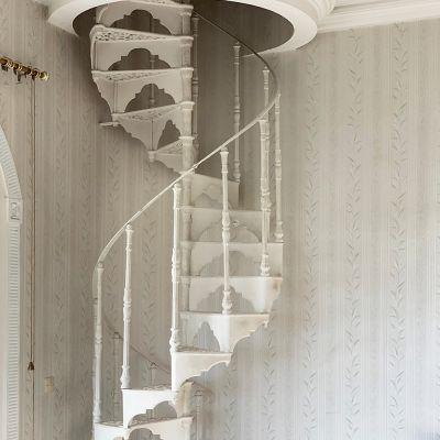 Stunning original  cast iron spiral staircase