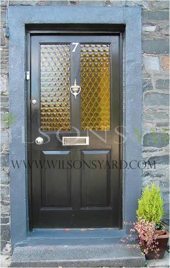 Half glazed Victorian style door