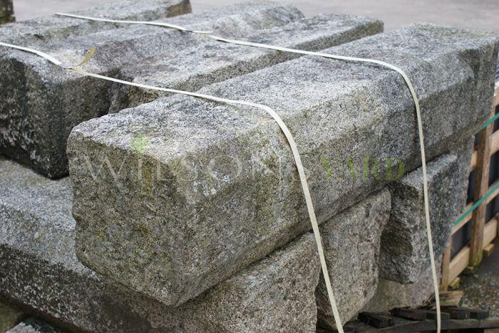 Reclaimed granite steps and kerbs