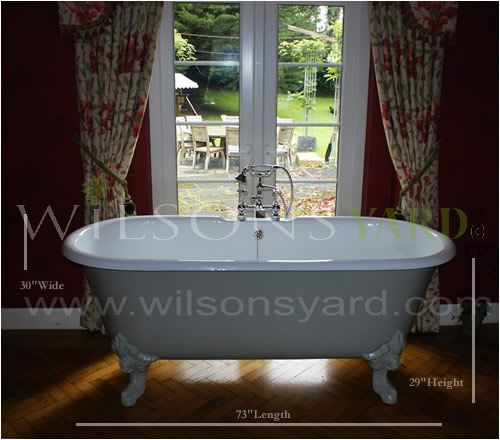 french style cast iron bath