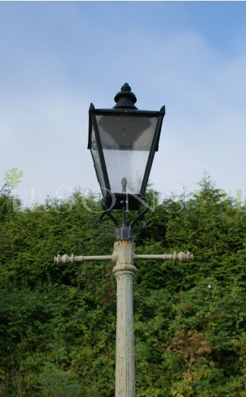 Pair of Street Posts including Lanterns