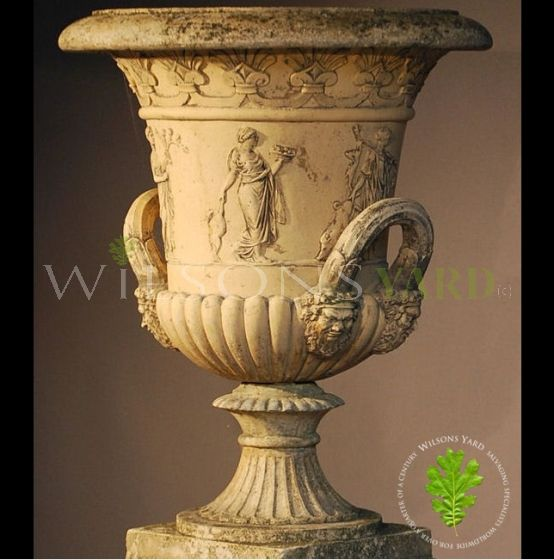 The Triton Collection - Thomas Hope Urn on Regency Pedestal