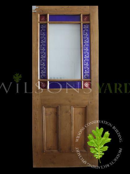 Starburst Pine Door
