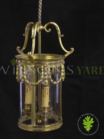 Old period hall lantern Belfast