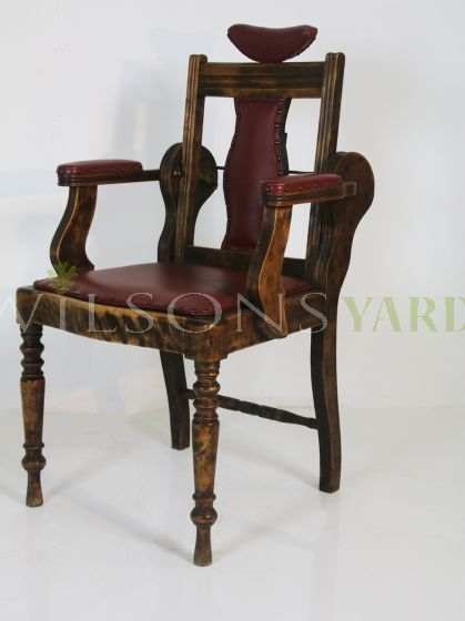 Vintage tattoo chair