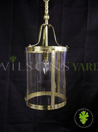 Vintage Brass hall lantern