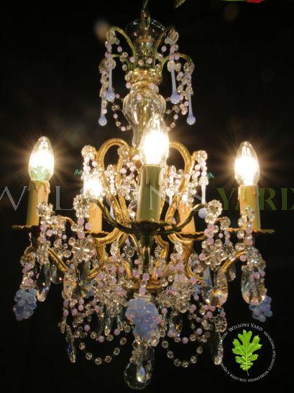 Restored chandelier Ireland