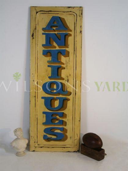 Antiques shop display