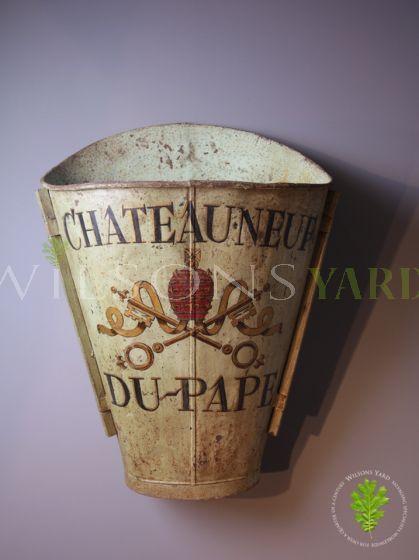 Original 19th Century Vendange (Grape Harvester) Hod