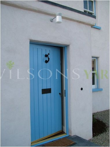 Cottage style exterior door