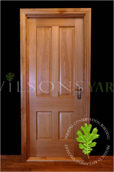 New Oak Door & Frame