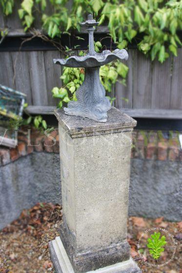 Antique garden water feature