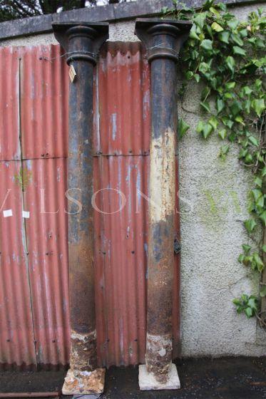 Original cast iron pillar