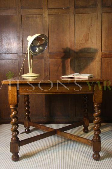 Barley Twist Legged Table
