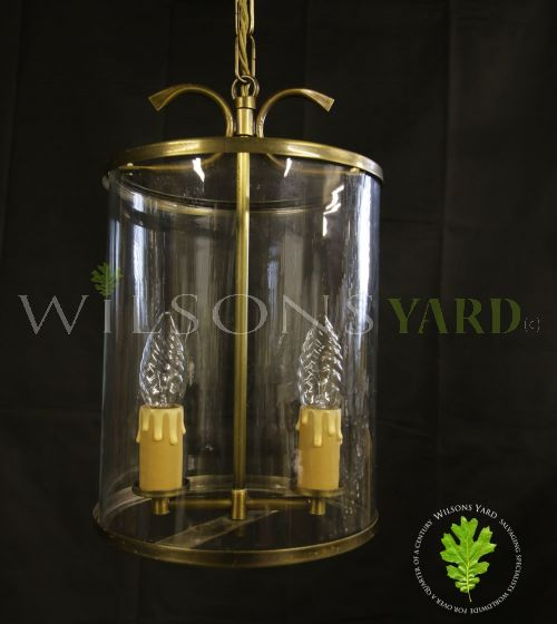 Original Brass hall lantern