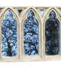 Mid Triple Gothic Stone Window