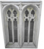 The Triton Collection - Large Double Gothic Stone Window